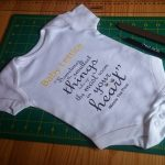 custom made baby grows