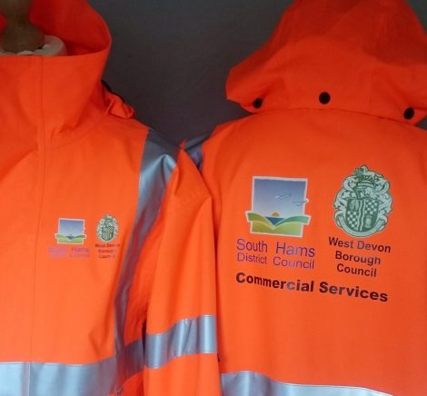 commercial printed high viz