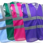 printed high viz vests