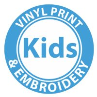 KIDS Vinyl Print & Embroidery Placements