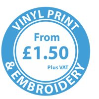 Vinyl Print & Embroidery For Clothing