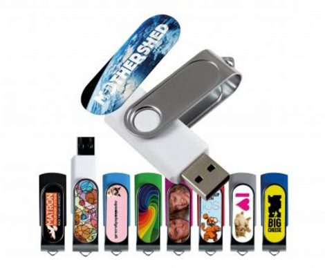 photograph about Printable Usb Drive called 1GB Printable USB Flashdrives